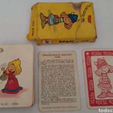 Barajas de cartas: JUEGO DE CARTAS VIKIE 1975. Lote 258105640