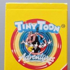 Mazzi di carte: BARAJA DE CARTAS TINY TOON DE HERECLIO FOURNIER 1991 NUEVO. Lote 258129630