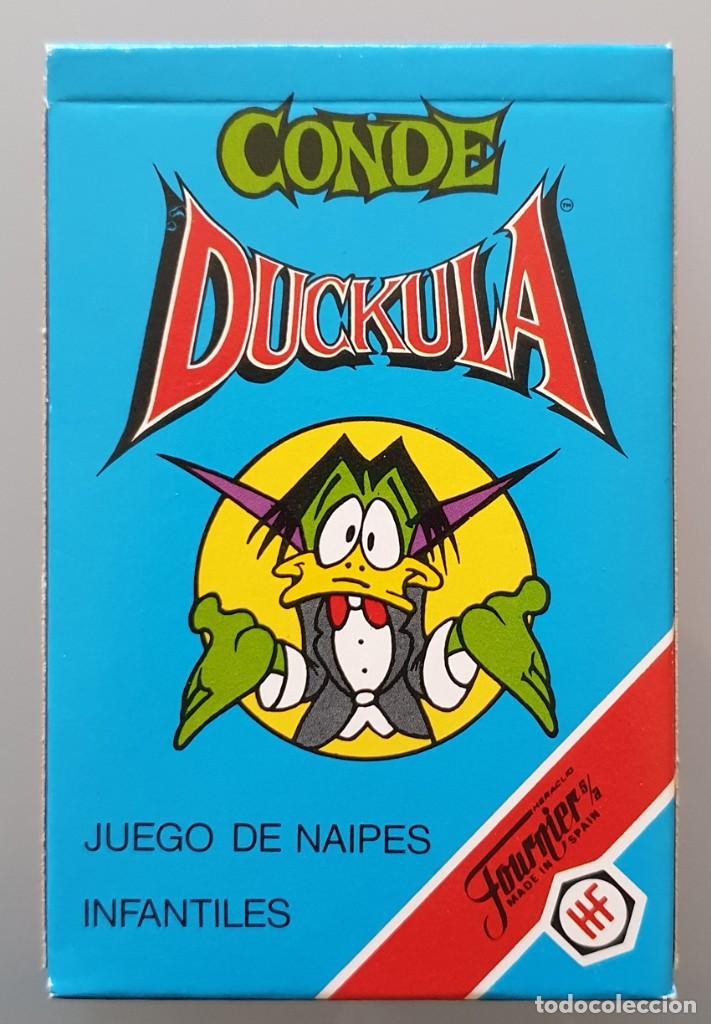 BARAJA INFANTIL FOURNIER 1991 - CONDE DUCKULA NUEVA DE COLECCIÓN (Juguetes y Juegos - Cartas y Naipes - Barajas Infantiles)