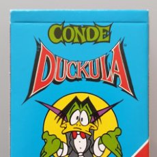Barajas de cartas: BARAJA INFANTIL FOURNIER 1991 - CONDE DUCKULA NUEVA DE COLECCIÓN. Lote 258131345