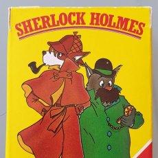 Barajas de cartas: BARAJA INFANTIL SHERLOCK HOLMES 1986. NUEVA DIFICIL EN ESTE ESTADO. Lote 258133250