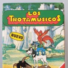 Baralhos de cartas: BARAJA DE CARTAS LOS TROTAMUSICOS 1989 NAIPES HERACLIO FOURNIER COMO NUEVA. Lote 258134610