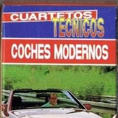 Mazzi di carte: BARAJA CUARTETOS TECNICOS COCHES MODERNOS. HERACLIO FOURNIER 1993. Lote 258164420
