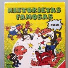 Jeux de cartes: BARAJA DE CARTAS INFANTIL - HISTORIETAS FAMOSAS / MORTADELO 1989 - FOURNIER NUEVA. Lote 258189680