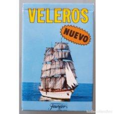Jeux de cartes: BARAJA VELEROS HERACLIO FOURNIER 1989 NUEVA. Lote 258198470