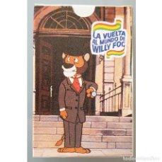 Jeux de cartes: BARAJA DE CARTAS LA VUELTA AL MUNDO DE WILLY FOG NUEVA 1983 DIFICIL EN ESTE ESTADO. Lote 258201955