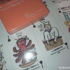 Barajas de cartas: BARAJA DE POKER DE 54 CARTAS - PARA APRENDER JAPONÉS - JAPÓN. Lote 259002145
