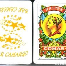 Barajas de cartas: BAR CAMARGO - BARAJA ESPAÑOLA 40 CARTAS. Lote 259837090