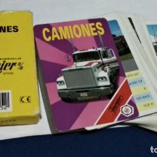 Baralhos de cartas: FOURNIER BARAJA, NAIPES, CARTAS ( CAMIONES ) 33 CARTAS COMPLETA 1991 ULTIMOS MODELOS. Lote 259937870