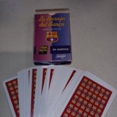 Barajas de cartas: LA BARAJA DEL BARÇA EL MUNDO DEPORTIVO FOURNIER. Lote 260268095