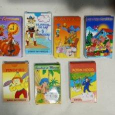 Barajas de cartas: LOTE 7 BARAJAS INFANTILES. Lote 260272995