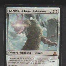 Mazzi di carte: MAGIC THE GATHERING : KOZILEK LA GRAN DISTORSION ( ELDRAZI ). Lote 260389790