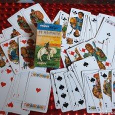 Barajas de cartas: NAIPES FOURNIER SLAVONIC. ANTIGUAS DINASTÍAS.. Lote 260416925