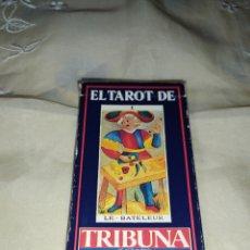 Barajas de cartas: BARAJA EL TAROT DE TRIBUNA,COMPLETA 22 CARTAS.. Lote 260831325