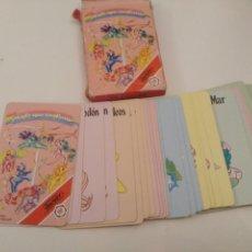 Baralhos de cartas: MI PEQUEÑO PONY - FOURNIER 1990 - INCOMPLETA - FALTA LA Nº 3 DE PONY MAGICO. Lote 261148730