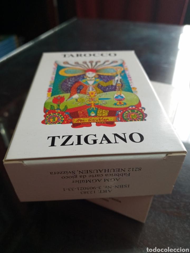 Barajas de cartas: TAROCCO TZIGANO.TAROT GITANO.GIPSY TAROT. - Foto 4 - 261323870