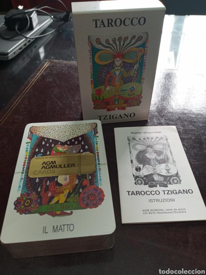 Barajas de cartas: TAROCCO TZIGANO.TAROT GITANO.GIPSY TAROT. - Foto 5 - 261323870