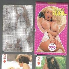 Barajas de cartas: BARAJA POKER SEXY - PORNO. 54 CARTAS. Lote 261526160