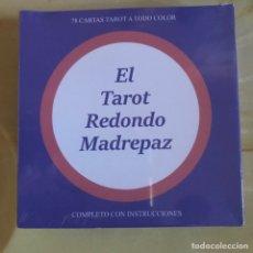 Barajas de cartas: MAZO TAROT MADREPAZ EN ESPAÑOL ED. CUATRO VIENTOS CHILE. Lote 261550145