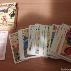 Barajas de cartas: BARAJA CARTAS WALT DISNEY. Lote 261633890