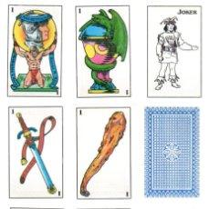 Barajas de cartas: BARAJA MAS REYNALS, 48 CARTAS + 2 COMODINES, PRECINTADA. ILUST. V. MAZA, DISEÑO M. MALE. Lote 261672120