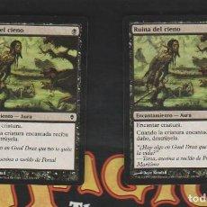 Barajas de cartas: MAGIC THE GATHERING : PAREJA , RUINA DEL CIENO ( REMOVAL ). Lote 261592690