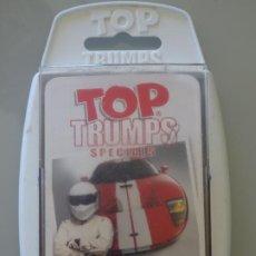 Jeux de cartes: BARAJA DE CARTAS INFANTIL. TOP TRUMPS. TOP GEAR COOL CARS. SUPER COCHES. 100GR. Lote 261861270