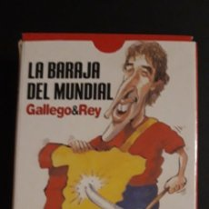 Barajas de cartas: BARAJA ** DEL MUNDIAL DE FUTBOL ** AÑO 2006 DE INTERVIU - POR GALLEGO&REY - CON PRECINTO. Lote 261995330