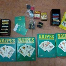 Barajas de cartas: NAIPES - EL FASCINANTE MUNDO DE LOS JUEGOS DE CARTAS. ALTAYA - COLECCION COMPLETA 84 FASCICULOS. Lote 262004530