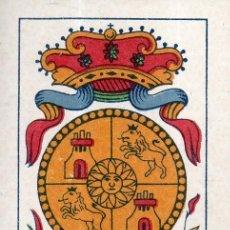 Barajas de cartas: VESIV BARAJAS CARTA SUELTA COMAS AS DE ORO ESCUDO DE CASTILLA. Lote 262018975