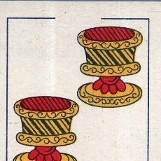 Barajas de cartas: VESIV BARAJAS CARTA SUELTA COMAS TRES DE COPAS. Lote 262019430