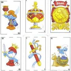 Jeux de cartes: BARAJA ESPAÑOLA LOS PITUFOS. EDITADA POR FOURNIER EN EL AÑO 2013. AGOTADA Y DESCATALOGADA. Lote 262118745