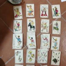 Barajas de cartas: BARAJA ESPAÑOLA ANTIGUA. Lote 262503845