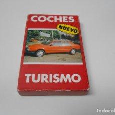 Mazzi di carte: BARAJA CARTAS FOURNIER COCHES TURISMO 33 PORSCHE SEAT HONDA RENAULT NAIPES FORD. Lote 262577440