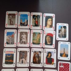 Barajas de cartas: BARAJA DE CARTAS. ITALIA. FLORENCIA. FIRENZE. POKER. 54 CARTAS. Lote 262756745