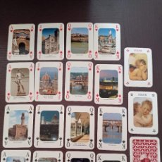 Barajas de cartas: BARAJA DE CARTAS. ITALIA. FLORENCIA. FIRENZE. POKER. 54 CARTAS. Lote 262756815