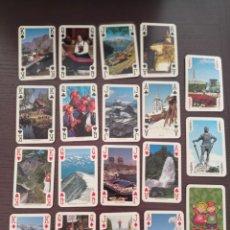 Barajas de cartas: BARAJA DE CARTAS. NORUEGA. NORWAY. POKER. 54 CARTAS. Lote 262758130