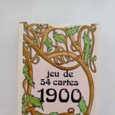 Barajas de cartas: BARAJA DE CARTAS. FRANCIA. GRIMAUD. 1900. POKER. PRECINTADA. 54 CARTAS. Lote 262763910