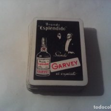 Barajas de cartas: CARTAS NAIPES BARAJAS FOURNIER BRANDY GARVEY. Lote 262907910