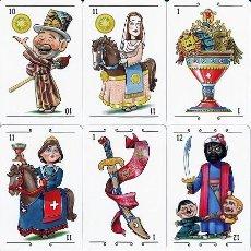 Barajas de cartas: BARAJA ESPAÑOLA DE GIGANTES Y CABEZUDOS. Lote 263141285