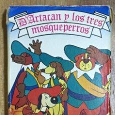 Jeux de cartes: BARAJA INFANTIL DARTACAN Y LOS TRES MOSQUEPERROS - AÑO 1981 COMPLETA. Lote 263172455