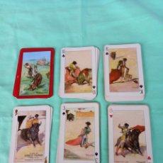 Barajas de cartas: BARAJA CARTAS TAUROMAQUIA HERACLIO FOURNIER 1960 DIBUJOS MARTINEZ LEON. Lote 263375275