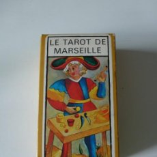 Barajas de cartas: BARAJA TAROT FOURNIER MARSELLA - 1983. Lote 263560055
