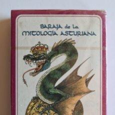 Barajas de cartas: BARAJA FOURNIER DE LA MITOLOGÍA ASTURIANA - PRECINTADA - ASTURIAS CARTES ASTURIANES. Lote 263575805