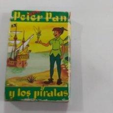 Jeux de cartes: ANTIGUA BARAJA DE CARTAS PETER PAN Y LOS PIRATAS FOURNIER COMPLETA. Lote 263633820