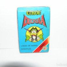 Jeux de cartes: BARAJA FOURNIER CONDE DUCKULA NAIPES - NUEVA Y PRECINTADA. Lote 264067410