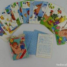 Jeux de cartes: BARAJA INFANTIL DE 33 CARTAS ESPINETE Y DON PIMPON DE HERACLIO FOURNIER. Lote 264248500