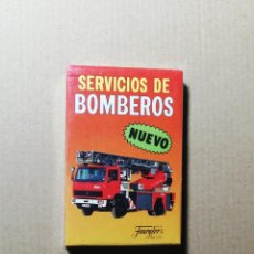 Barajas de cartas: BARAJA SERVICIOS DE BOMBEROS - FOURNIER. Lote 264259080