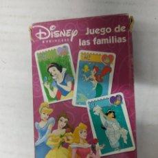 Barajas de cartas: BARAJA NO FOURNIER JUEGO DE FAMILIAS DISNEY. Lote 264345908