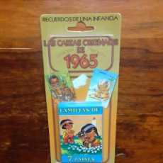 Jeux de cartes: BARAJA FAMILIA 7 PAÍSES - JUEGO DE CARTAS INFANTILES - FOURNIER - A ESTRENAR. Lote 264358804